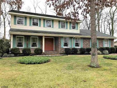 Vineland Single Family Home For Sale: 2909 Driftwood Ln