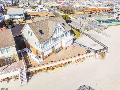 Margate NJ Single Family Home For Sale: $3,799,000