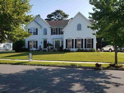 Egg Harbor Township NJ Single Family Home For Sale: $350,000