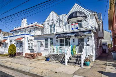 Ventnor Single Family Home For Sale: 17 S Fredericksburg Ave