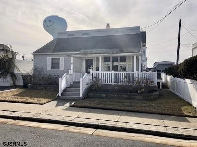 Atlantic City, Longport, Longport Borough, Margate, Ventnor, Ventnor Heights Rental For Rent: 6 S Woodcrest Ave