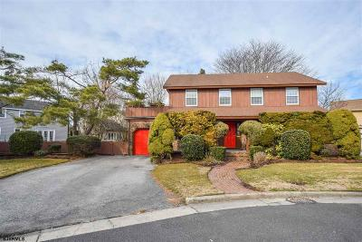 Margate NJ Single Family Home For Sale: $539,900