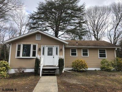 Upper Township Single Family Home For Sale: 101 Townsend Road