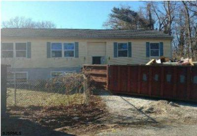 Millville Single Family Home For Auction: 415 Doe Pl