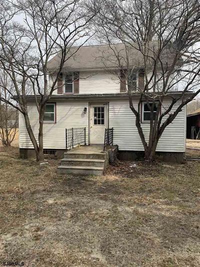 Mays Landing Single Family Home For Sale: 6961 Harding Hwy