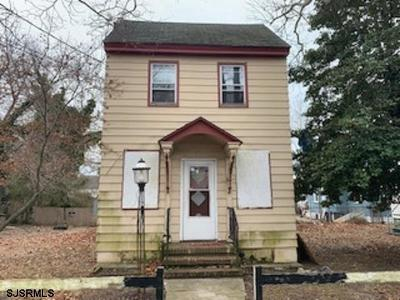 Millville Single Family Home For Sale: 307 Sassafras Street