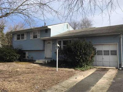 Vineland Single Family Home For Sale: 3025 Athens Way