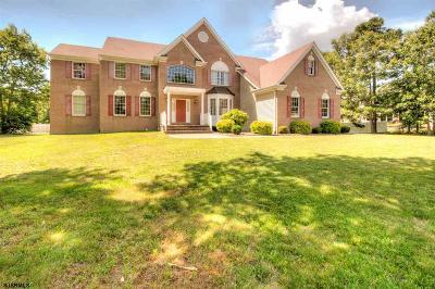 Egg Harbor Township Single Family Home For Sale: 106 New Bridge Road