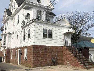 Atlantic City Multi Family Home For Sale: 14 N Providence Ave Ave