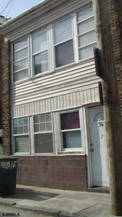 Atlantic City Multi Family Home For Sale: 34 S Bellevue Ave