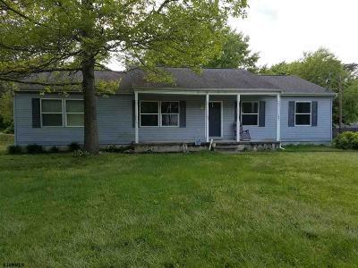 Millville Single Family Home For Sale: 118 Geissinger Ave