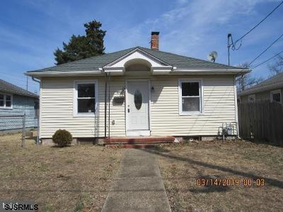 Millville Single Family Home For Sale: 1006 Woodland Ave