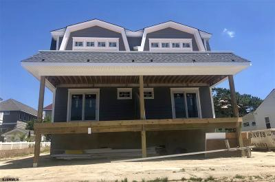 Stone Harbor Condo/Townhouse For Sale: 254 84th St Street #West Uni