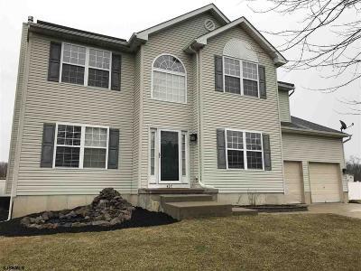 Millville Single Family Home For Sale: 437 Spencer Pl