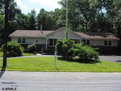 Vineland Single Family Home For Sale: 1694 Mosswood Dr