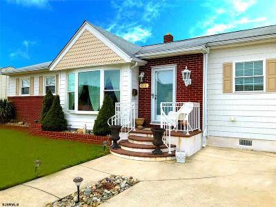 Ventnor Heights Single Family Home For Sale: 610 N Cornwall Ave.
