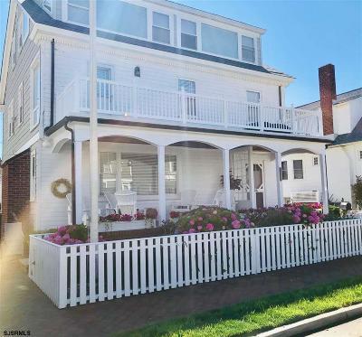 Atlantic City, Longport, Longport Borough, Margate, Ventnor, Ventnor Heights Rental For Rent: 108 S Kenyon Avenue Ave
