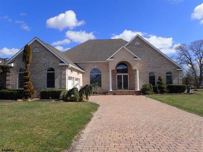 Egg Harbor Township Single Family Home For Sale: 4 Otter Lane