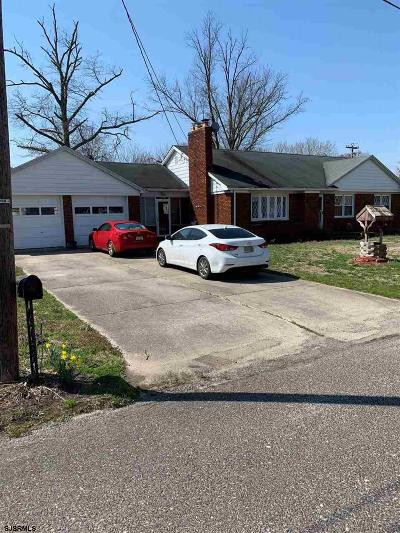 Vineland Single Family Home For Sale: 53 W Summit St Street