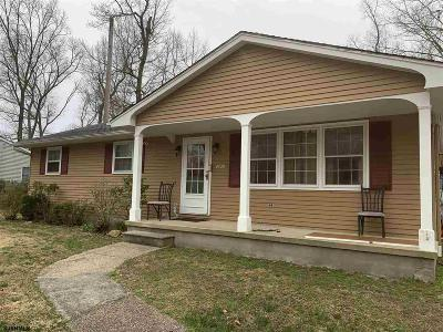 Vineland Single Family Home For Sale: 2420 Brookhaven Dr