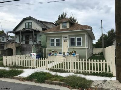 Atlantic City Single Family Home For Sale: 1505 Madison Ave