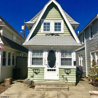 Ocean City Single Family Home For Sale: 1430 Wovern Pl