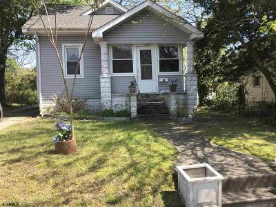 Somers Point Single Family Home For Sale: 442 Shore Rd Road