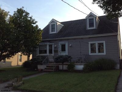 Ventnor Single Family Home For Sale: 210 N Washington