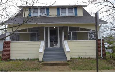 Millville Single Family Home For Sale: 501 N 7th Street