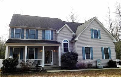 Egg Harbor Township Single Family Home For Sale: 1587 Somers Point Rd