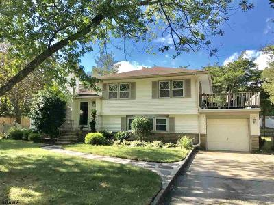 Linwood Single Family Home For Sale: 1701 Woodlynne Blv