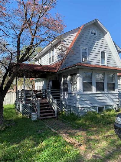 Vineland Single Family Home For Sale: 44 N Myrtle St