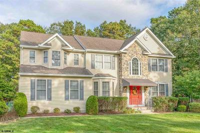 Egg Harbor Township Single Family Home For Sale: 220 Mystic Dr