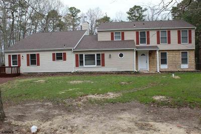 Egg Harbor Township Single Family Home For Sale: 11 Rally Rd