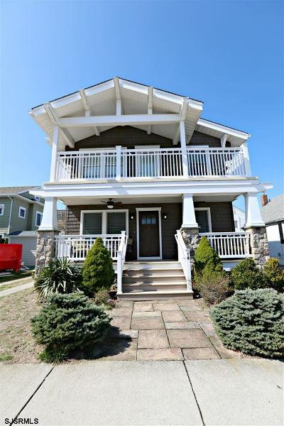 Atlantic City, Longport, Longport Borough, Margate, Ventnor, Ventnor Heights Rental For Rent: 18 S Granville Ave