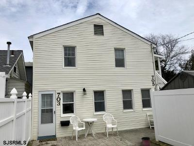 Ocean City Multi Family Home For Sale: 703-705 North St Street