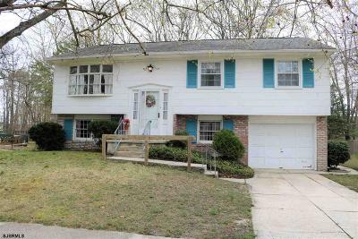 Somers Point Single Family Home For Sale: 5 Southview