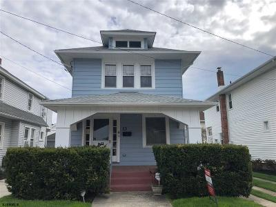 Ventnor Single Family Home For Sale: 13 N Lafayette Ave