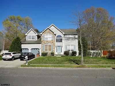 Egg Harbor Township Single Family Home For Sale: 208 Prancer Road