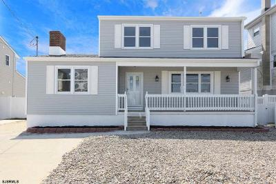Brigantine Single Family Home For Sale: 444 Lafayette Blvd