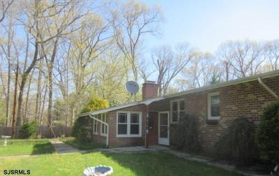 Egg Harbor Township Single Family Home For Auction: 140 Pine Avenue