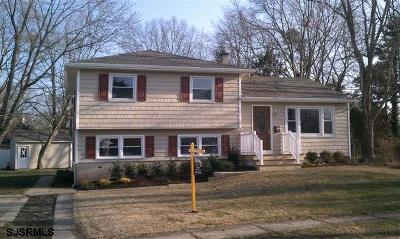 Somers Point Single Family Home For Sale: 7 Princeton Road