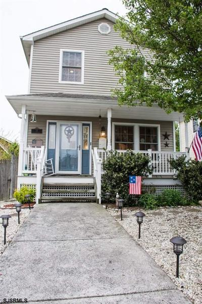 Somers Point Single Family Home For Sale: 118 Cleveland Ave