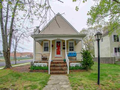 Somers Point Single Family Home For Sale: 913 Pennsylvania Ave
