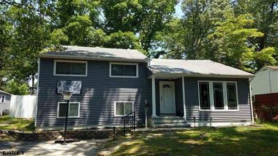 Absecon Single Family Home For Sale: 172 Hobart Ave