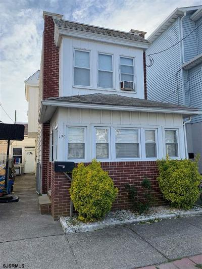 Ventnor Single Family Home For Sale: 120 N Bryant Ave