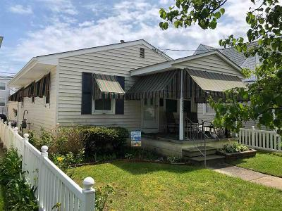 Ocean City Single Family Home For Sale: 2253 West Ave