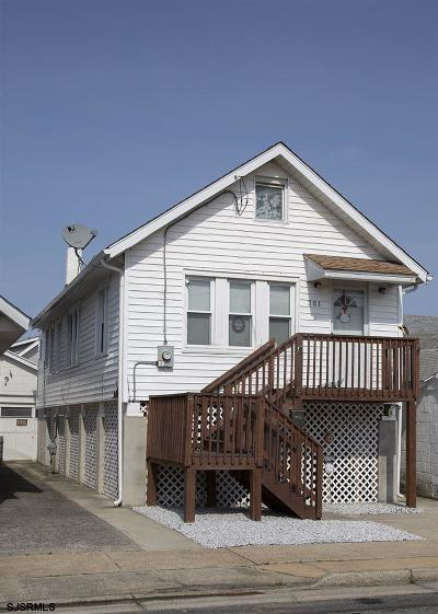 Ventnor Single Family Home For Sale: 201 N Somerset Ave