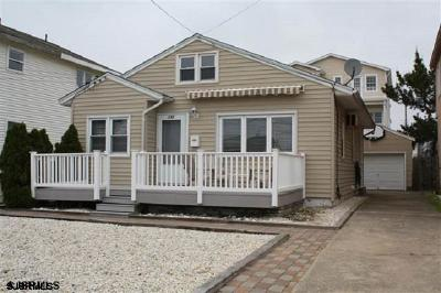 Brigantine Single Family Home For Sale: 235 S 5th Street