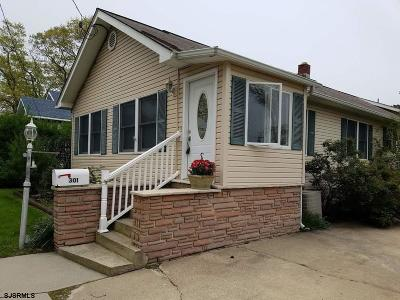 Absecon Single Family Home For Sale: 301 E Wyoming Ave